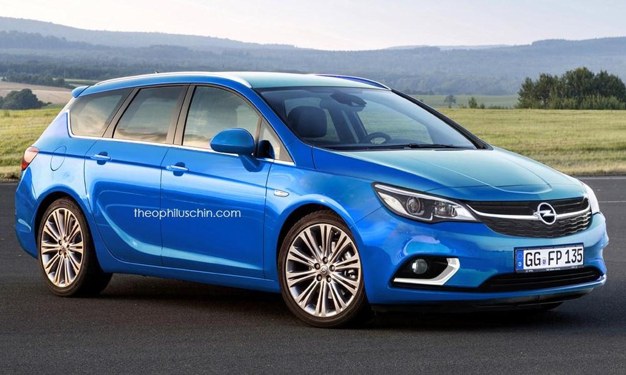 Opel Astra K Opel Astra Sports Tourer