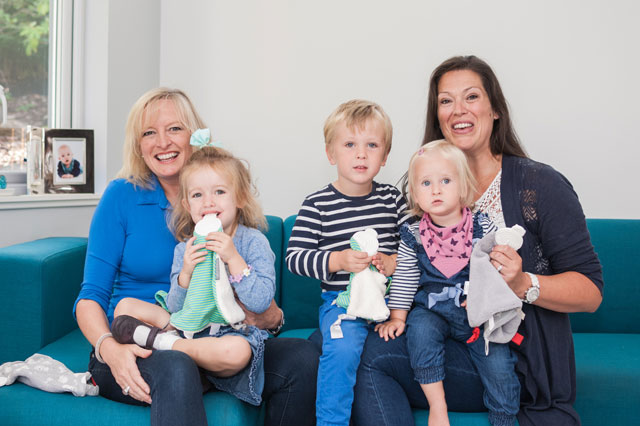Dragons' Den rejects Amy Livingstone and Julie Wilson take baby product market by storm with Cheeky Chompers