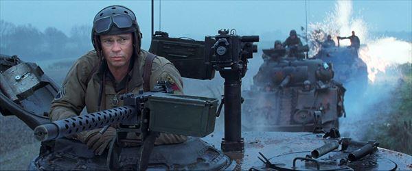 進撃のブラッド・ピット!戦車「フューリー」でナチに殴り込む激アツシーンが先行解禁