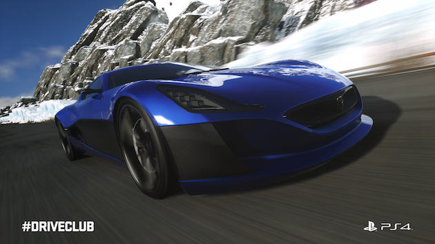 Driveclub lets you race Rimac's ultra-rare electric hypercar