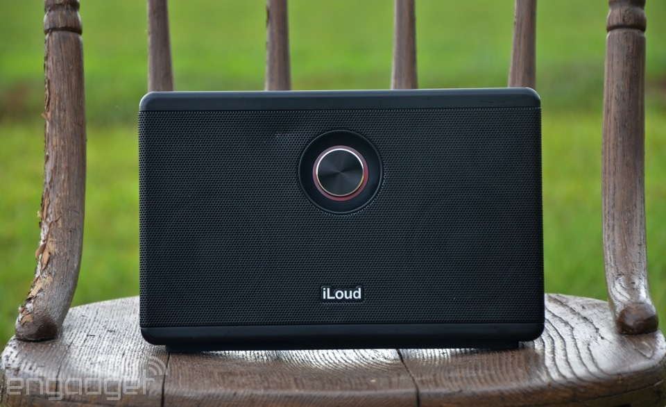 IRL: IK Multimedia's iLoud portable Bluetooth speaker