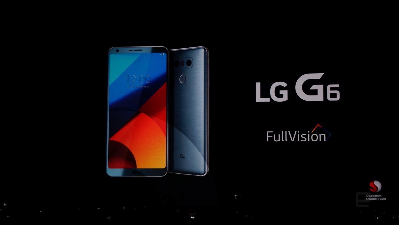 El LG G6 se viste de largo en el MWC 2017