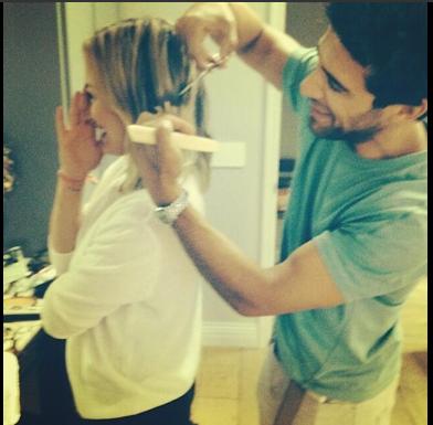 Hilary Duff hair cut style
