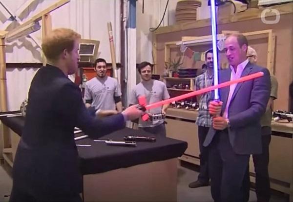 ウィリアム王子とハリー王子、ストームトルーパーとして『スター・ウォーズ/最後のジェダイ』にカメオ出演!?