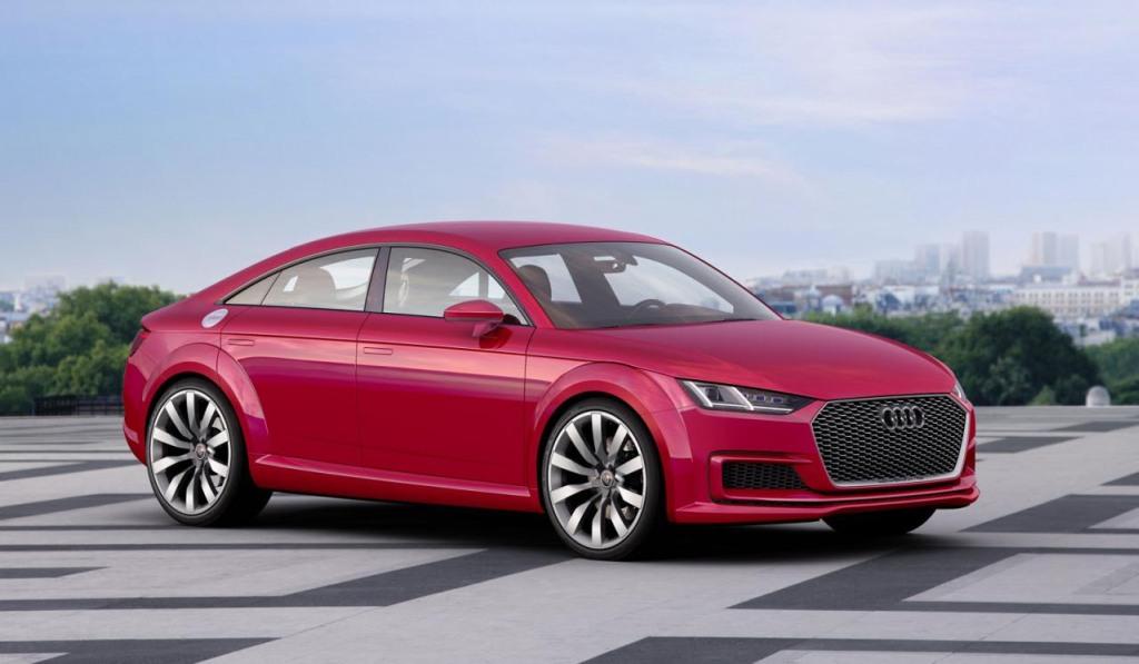 Audi TT Sportback, Paris Auto Salon, Auto Salon Paris, Audi TT, Audi TT schooting brake, Audi TT 4-door Coupé  revealed, premiere,
