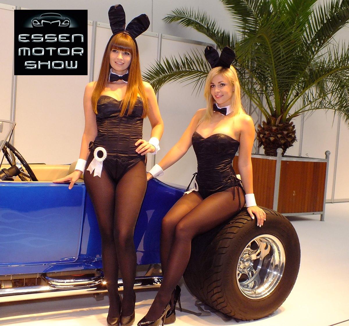 Essen Motor Show 2014 Highlights: die sexy Girls