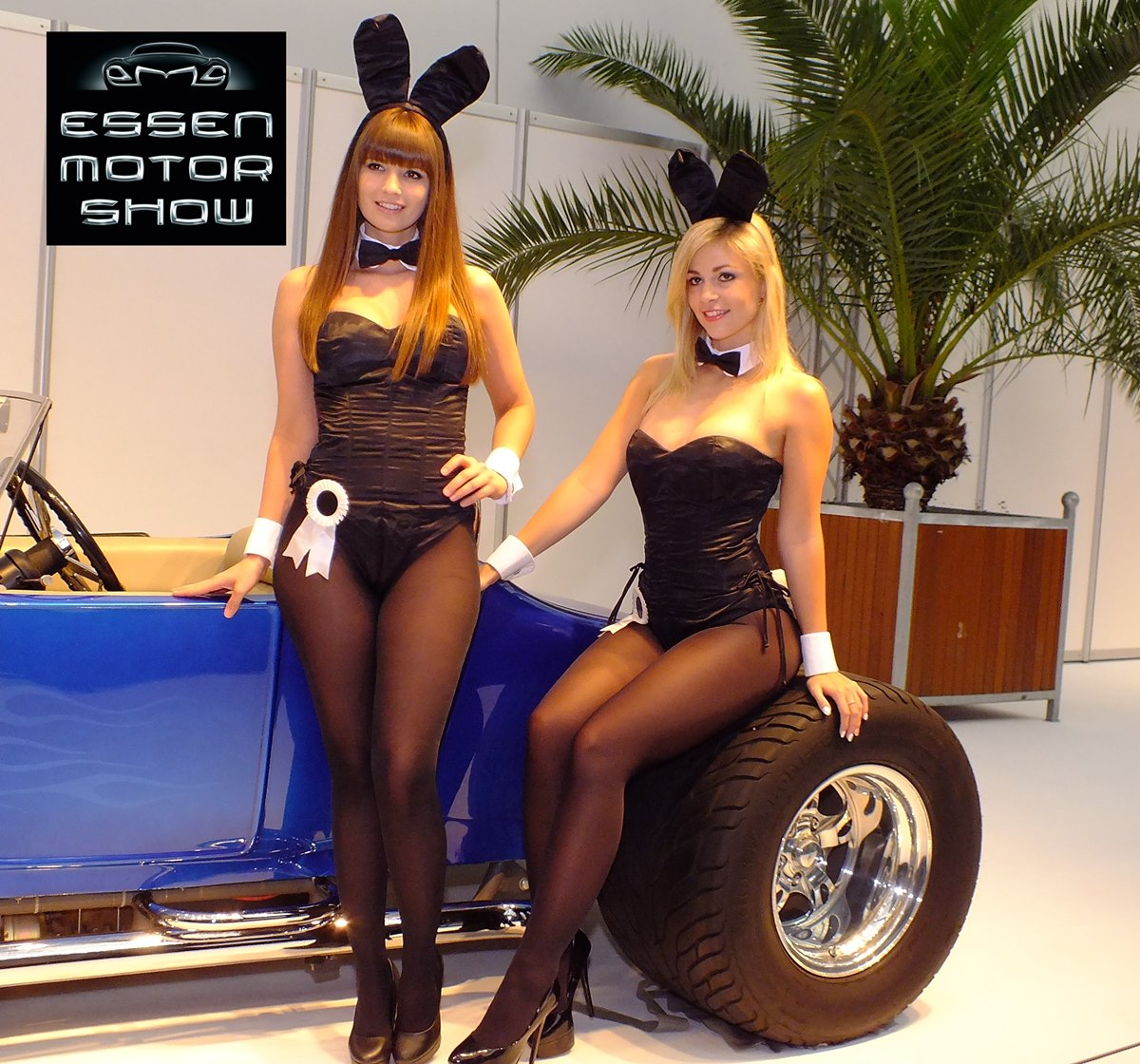 Essen Motor Show 2014 Highlights: die sexy Girls