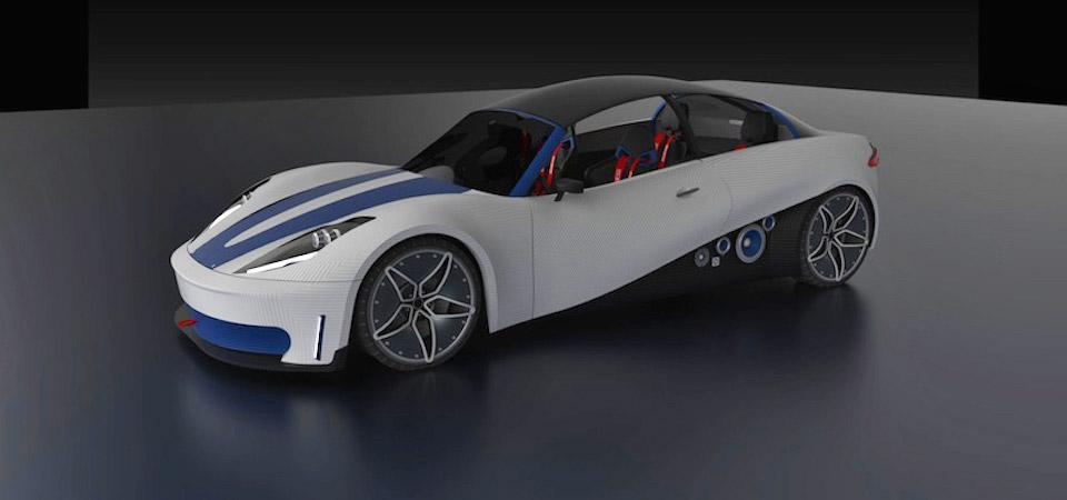 You can buy this 3D printed car next year for $53,000