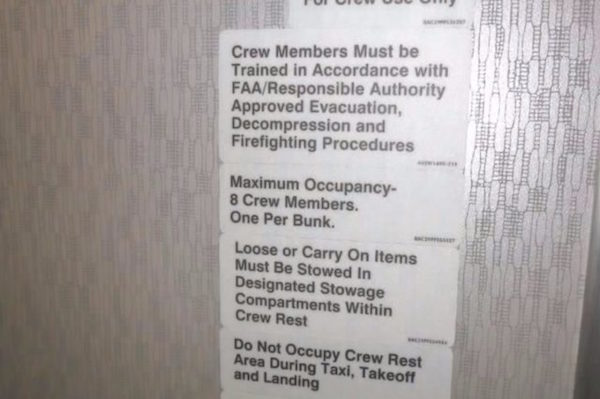 So There's A Secret Room On Airplanes For Flight Attendants
