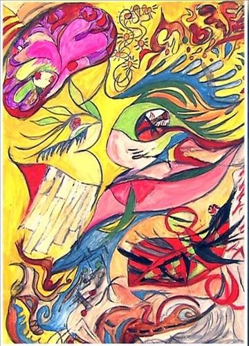 吉澤ひとみが明石家さんまを描いた絵の下絵公開 完成品も改めて話題「ピカソの再来」の声