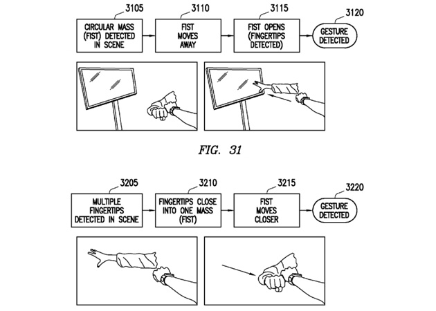 Samsung smartwatch patent with touchless gestures