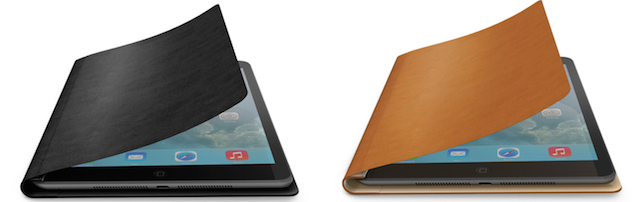 Felix FlipBook Air for iPad Air, Black and Tan