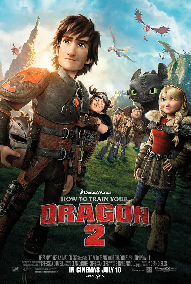 How To Train Your Dragon 2: See the trailer