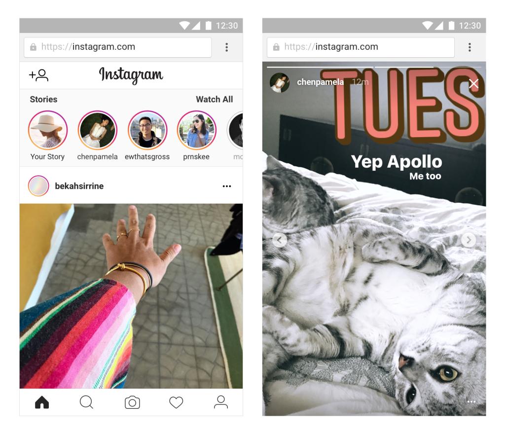 Ya puedes ver los Stories de Instagram en tu ordenador