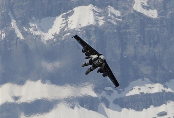manliest photos on the internet, funny manly images, swiss inventer yves rossy jet pack