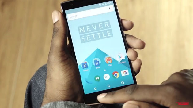 OnePlus' Oxygen OS on the One