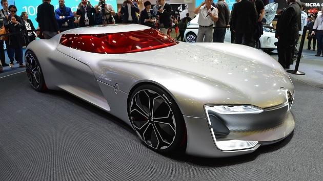 【パリモーターショー2016】フランス的未来派デザインの傑作、ルノー「トレゾア」コンセプト