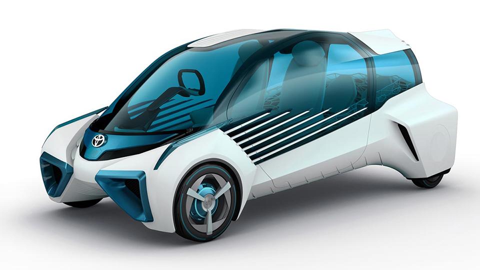 Así imagina Toyota sus vehículos de hidrógeno del futuro