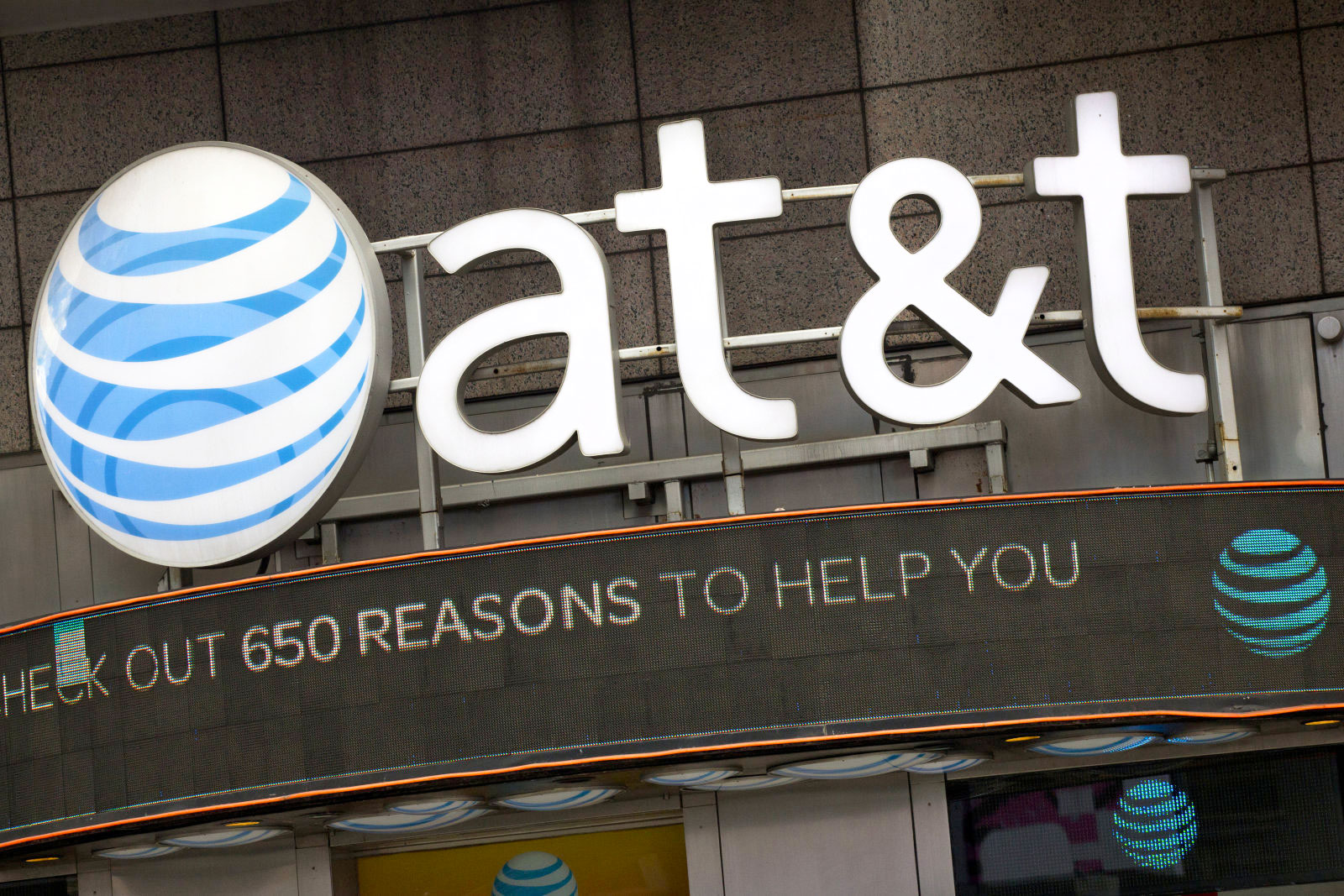 AT&T reportedly spies on its