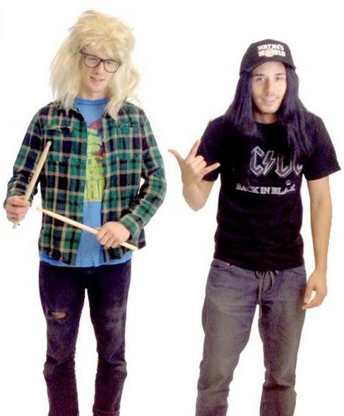 Wayne's World Halloween costumes