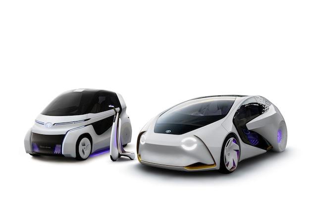 トヨタ、人工知能で人を理解する「Concept-愛i」シリーズを拡大 3タイプを東京モーターショーに出展