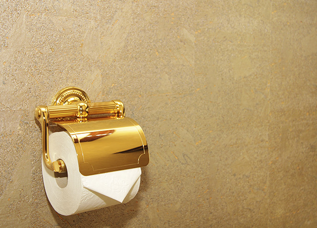 Carat Gold Toilet Paper Could Be Yours For  HuffPost UK - Gold flake toilet paper