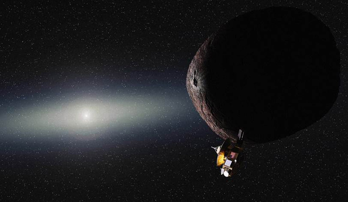 NASA's Pluto probe is heading for the Kuiper belt