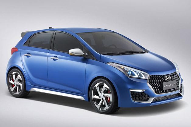 Hyundai HB20 R-Spec Concept