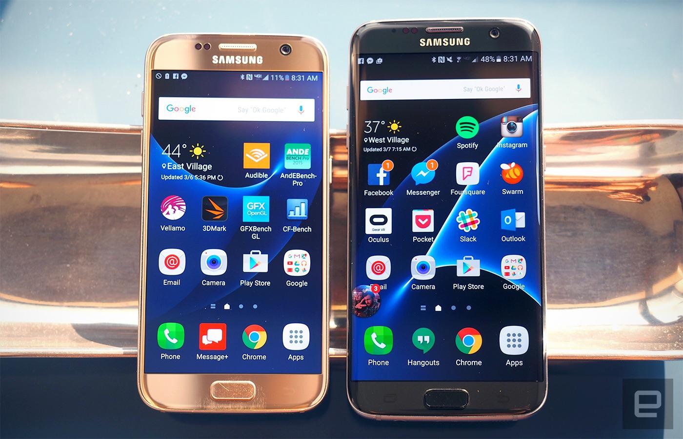 Los Galaxy S7 y S7 Edge entran en el programa de betas de Samsung