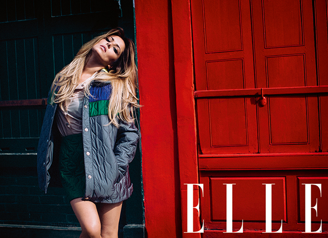 Cheryl Cole photographed by Ben Morris, August ELLE UK 2014