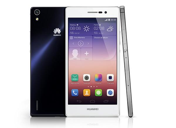 Huawei presenta el nuevo terminal Ascend P7