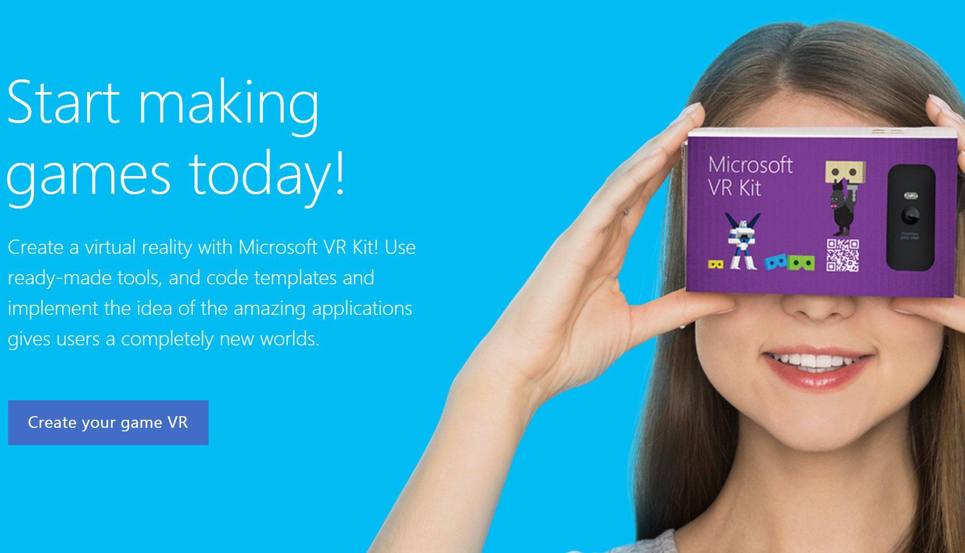 Microsoft tendrá también su cartón de realidad virtual