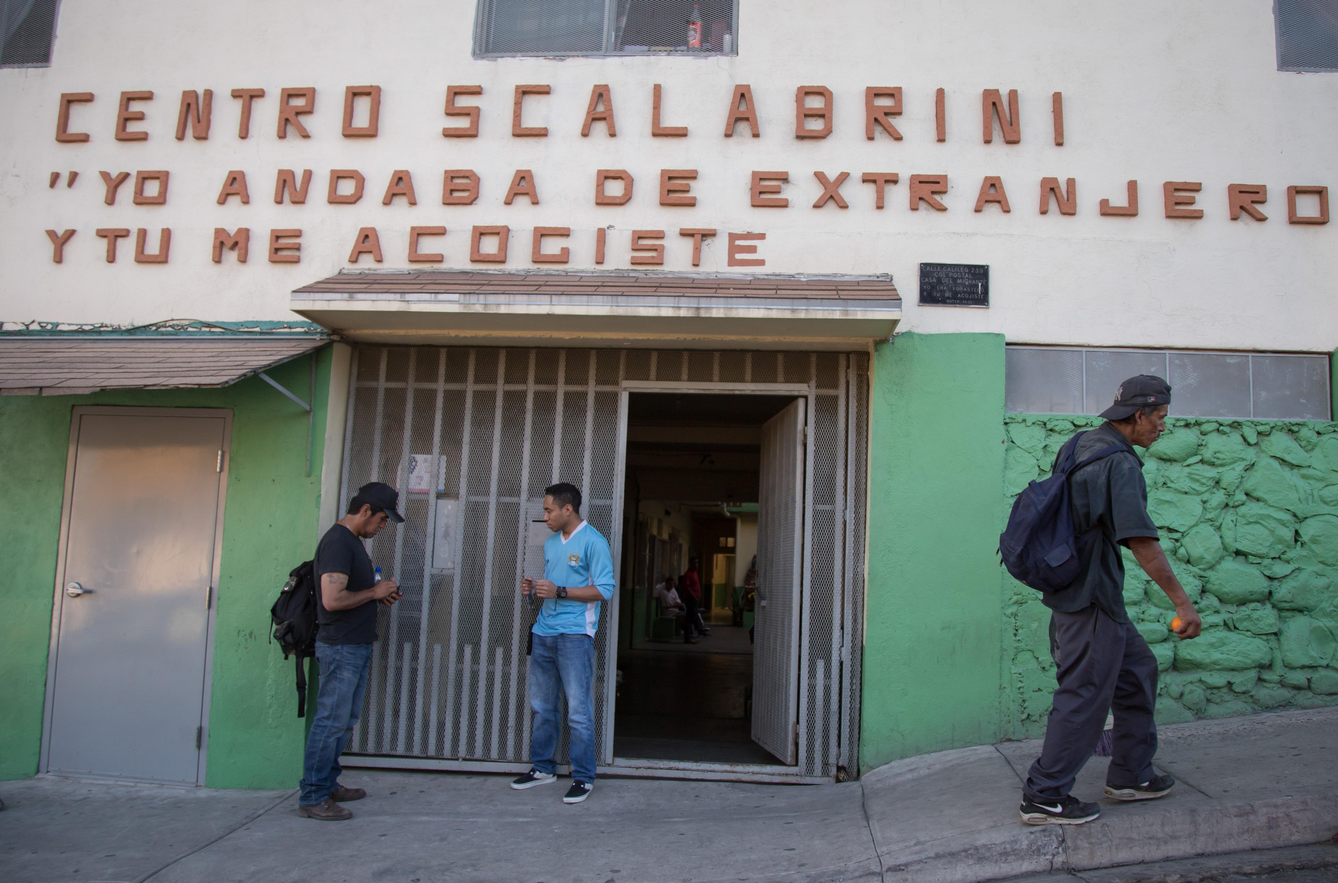 Una misi n sin fin c mo la iglesia atiende a los for Mural de la casa del migrante