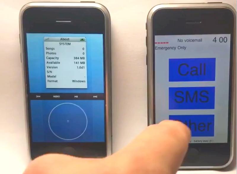 10 Jahre iPhone: So sahen superfrühe iOS-Versionen aus