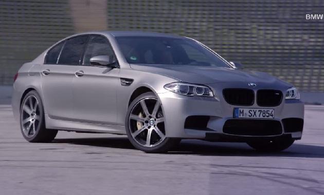 【ビデオ】BMW「M5」30周年記念特別限定車のドリフト映像