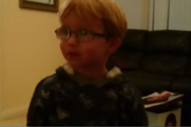Little boy's reaction to seeing Star Wars for the first time is joy unconfined (video)