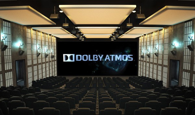 Dolby Atmos in a movie theater