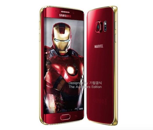 Samsung confirma los Galaxy S6 y S6 Edge 'Iron Man Edition'