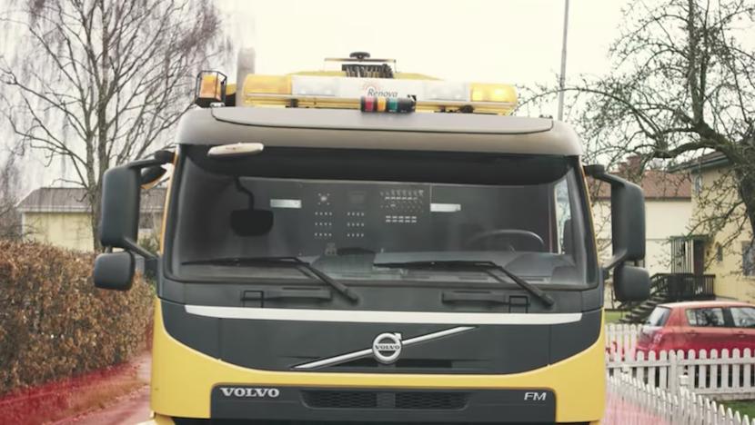 Volvo testet autonome Müllwagen