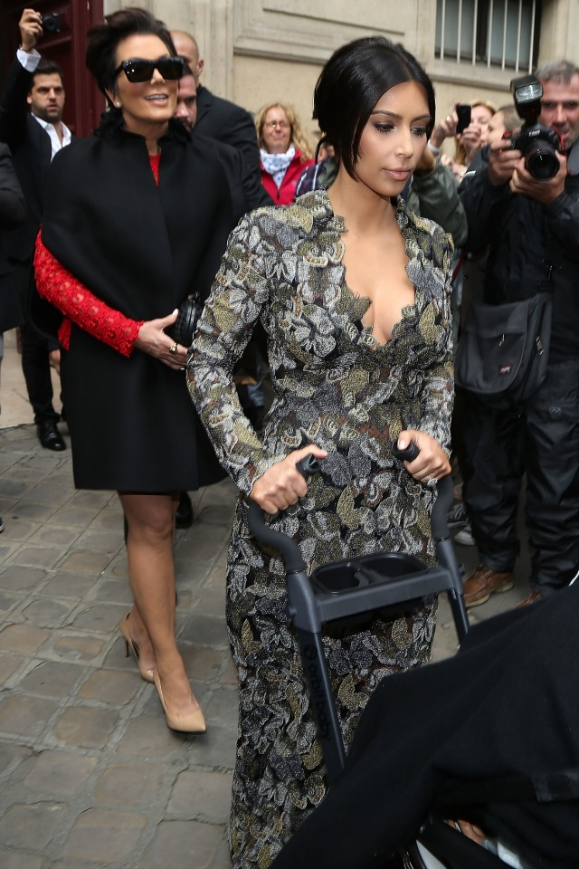Kim Kardashian wedding brunch