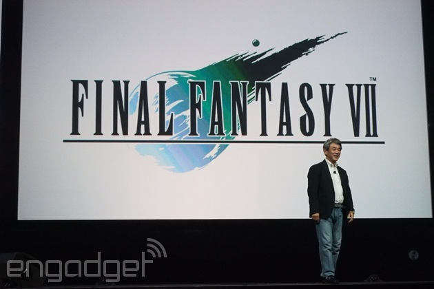 'Final Fantasy VII' is coming exclusively to PlayStation 4 Spring 2015