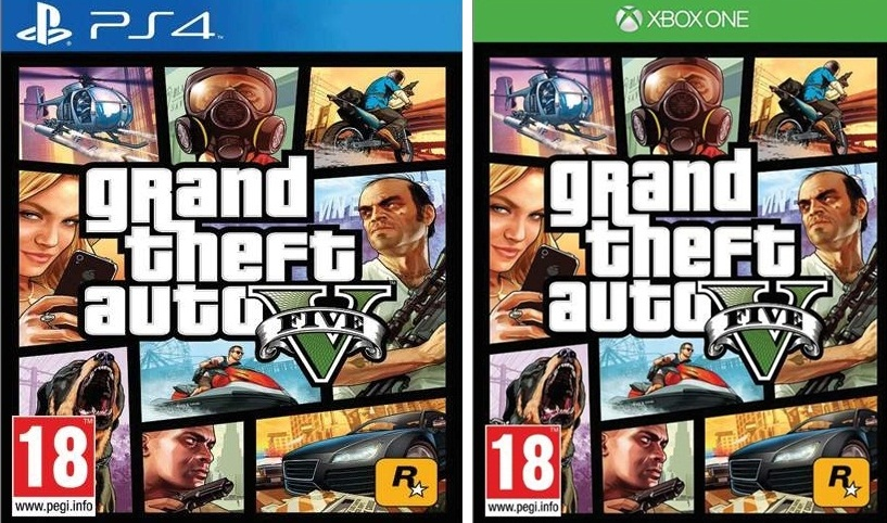 GTA V coming to current gen!