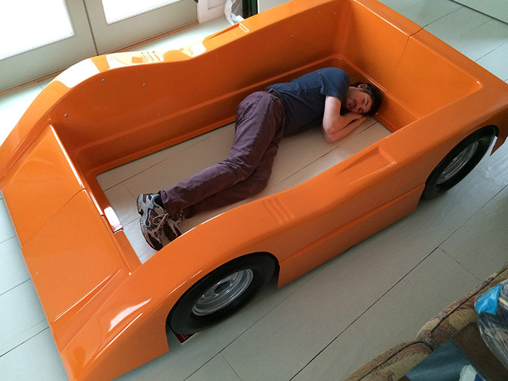 Bruce Meyers Race Car Bed