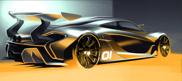 マクラーレンが「P1」のサーキット専用モデル「P1 GTR」コンセプトを来月、お披露目へ