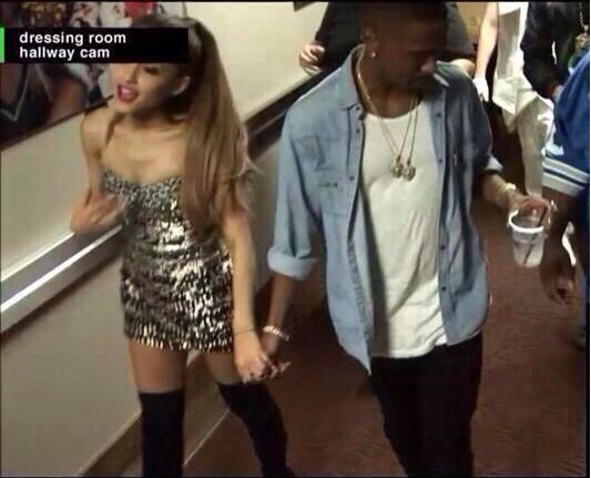 ariana grande and big sean vmas pda