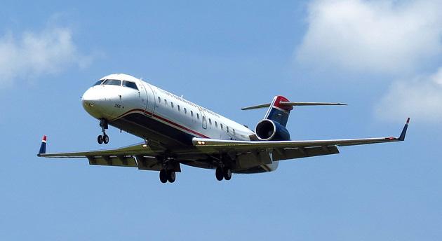 US Airways Express CRJ-200 passenger jet
