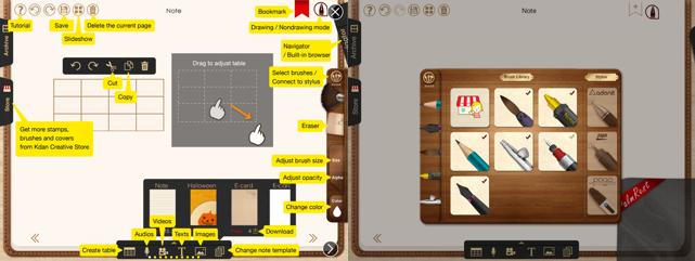 NoteLedge iOS app screenshot