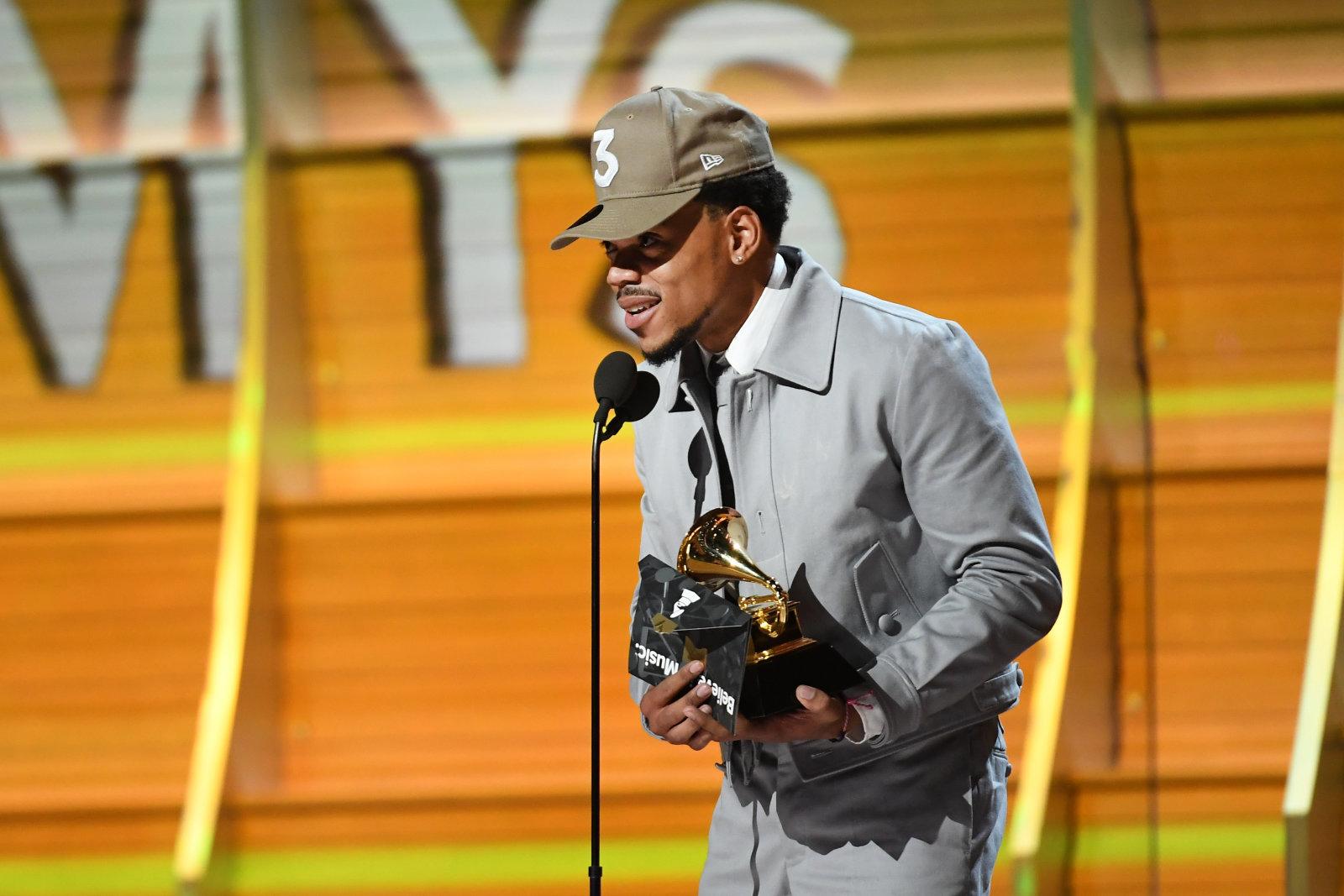 Chance The Rapper gewinnt ersten Grammy für Stream-Only-Album