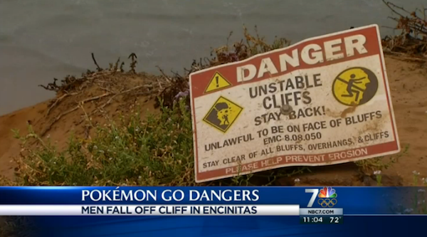 People Are Getting Very Injured Playing 'Pokémon Go'