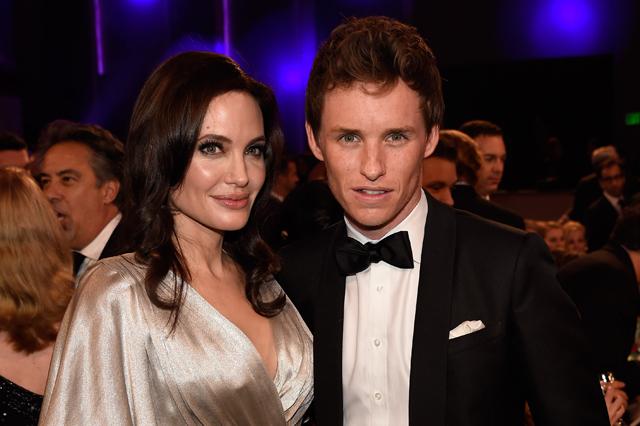 Angelina Jolie, Eddie Redmayne
